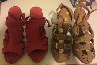 Pack 2 zapatos de tacon