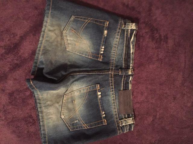 Pantalon corto benetton 36