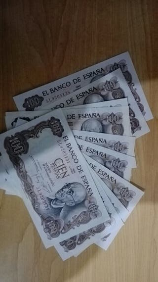 vendo billete de 100 pesetas de 1970 SC