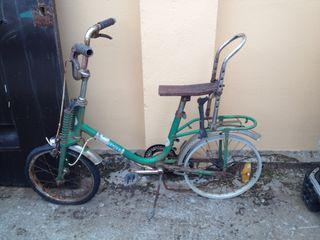 Bicicleta antigua bh bolero