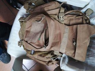 mochila de combate