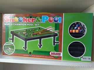Billar americano sobre mesa snooker & pool deluxe
