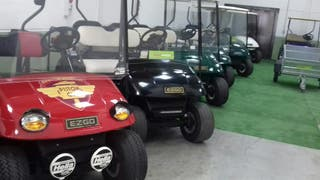 buggy ezgo electrico 4 plazas