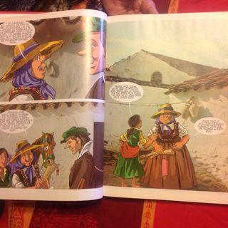 D. Quijote en cómic, telef 647856529