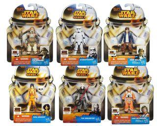 Pack 6 Figuras Star Wars