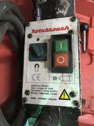 Rotabroach CM 300, fresadora magnetica puma fresa