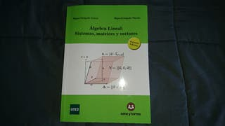 Libro Álgebra Lineal Uned
