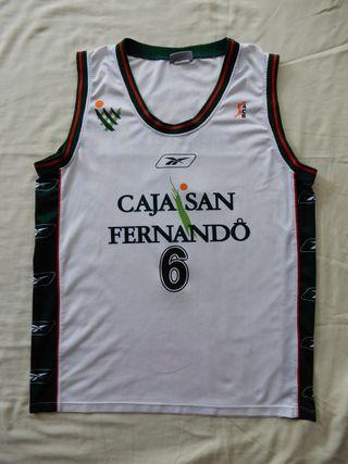 Camiseta baloncesto Caja San Fernando