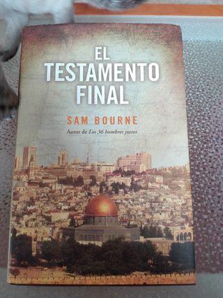"""libro """"EL TESTAMENTO FINAL"""""""