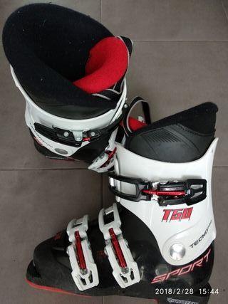 botas de ski infantil
