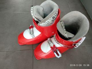 botas de eski infantil