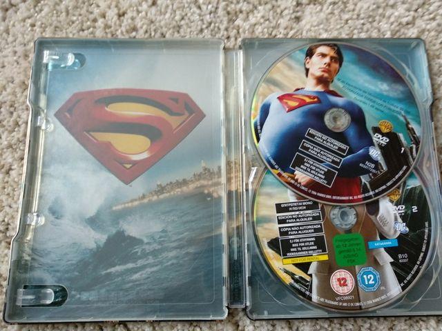 Dvd steelbook Superman Returns 2 dvds de segunda mano por 8