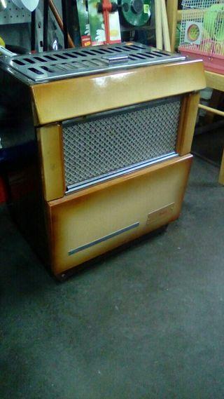 Estufa leña y carbon sasac