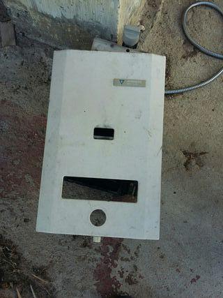 Calentador gas AVERIADO