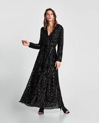 Vestidos de fiesta manga larga zara