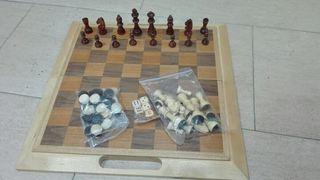 ajedrez y backgammon