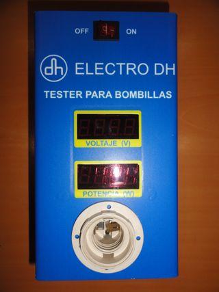 Tester para bombillas ELECTRO DH