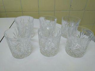 6 vasos whisky