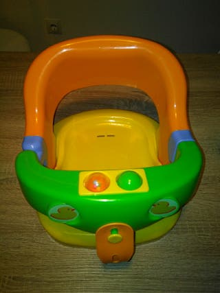 Asiento para bañera de bebé