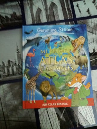 atlas de animales de Geronimo Stilton