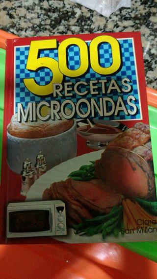 libro 500 recetas microondas