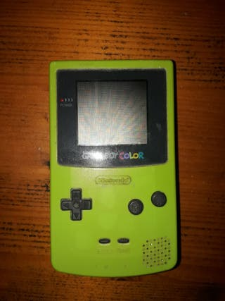 game boy color verde