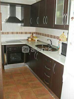 Muebles cocina modernos color marron de segunda mano por 850 € en ...