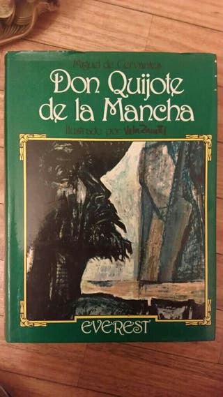 Don Quijote de la Mancha con ilustraciones