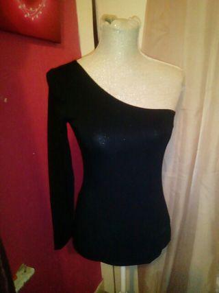 Topshop Little black off shoulder dress