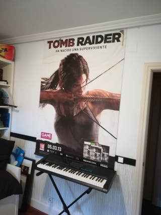 Póster Tom Raider.