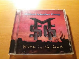 Michael Schenker Group Written In The Sand CD Orig