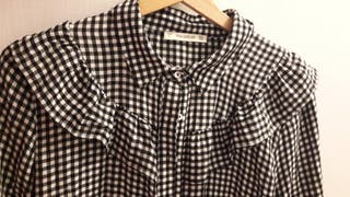 Camisa cuadros Pull and Bear