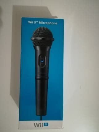 micrófono wii u