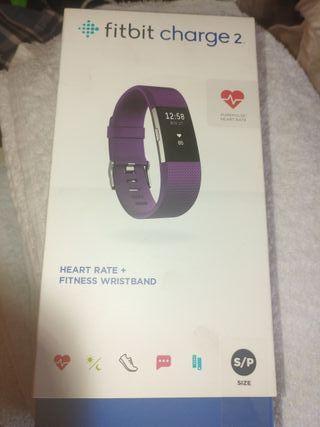 Fitbit CHARGE 2 Reloj deportivo ritmo cardiaco