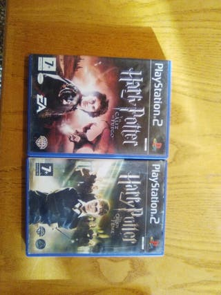 Lote Harry Potter Juegos play station 2