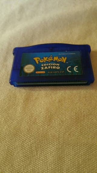 pokemon zafiro game boy.