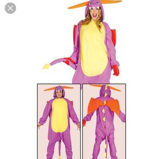 pijama disfraz de dragón