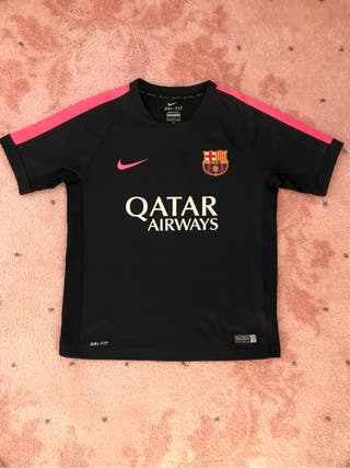 Barcelona camiseta 8-11 años como nueva