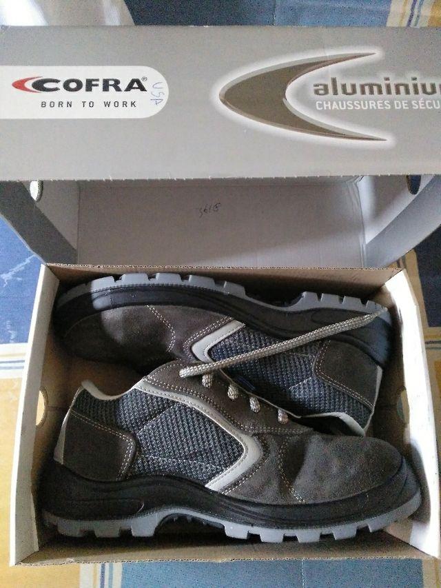 zapatos de seguridad 45