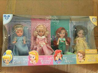 set muñecas disney fairytale