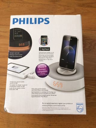 Altavoz iPhone / iPod Philips