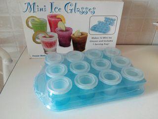 molde chupito hielo