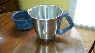 vaso de la termomix i cestillo