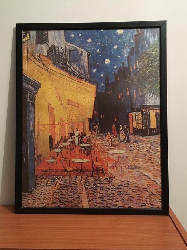Cuadro Terraza De Café Por La Noche Vincent Van Gogh De