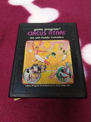 Juego Atari VCS 2600 CIRCUS ATARI envío gratuito.