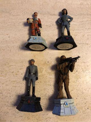 Figuras de plomos star wars