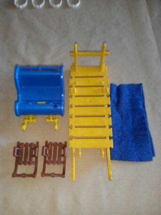 trineos de nieve playmobil
