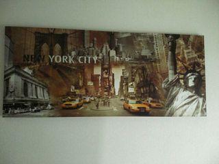 Cuadro New YORK (grande)