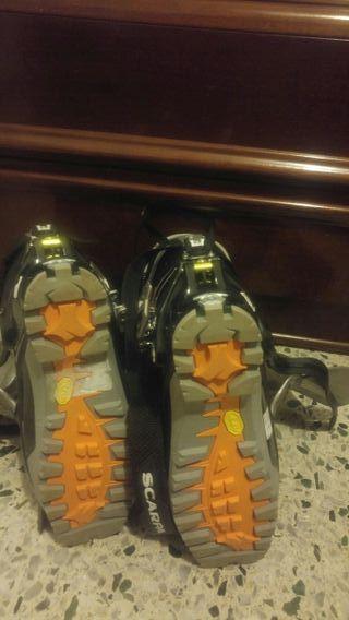 botas de travesia