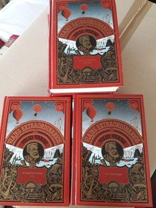 colección 15 libros julio verne